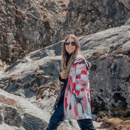 chaqueta impermeable pluvo rain parque nacional de los nevados Colombia