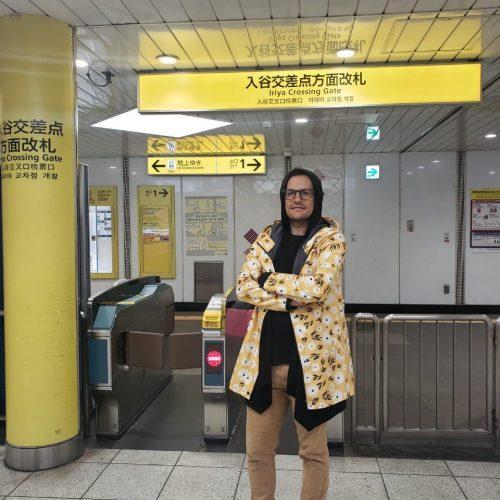 chaqueta pluvo margaritas Tokyo
